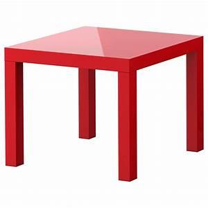 Ikea Petite Table : lack side table high gloss red 55x55 cm ikea ~ Voncanada.com Idées de Décoration
