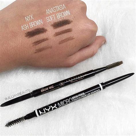 anastasia beverly hills brow wiz dupe nyx micro brow pencil makeup pinterest joiespooks