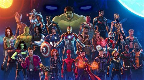 wallpapers avengers infinity war characters marvel
