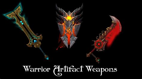 Warrior Artifact Weapons - YouTube