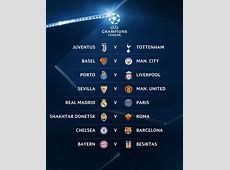 Champions League Draw Chelsea to face Barcelona in last