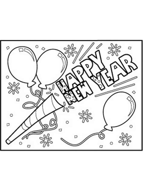 year coloring pages  preschoolers  images