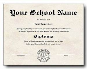 free fake high school diploma templates - 50 free high school diploma template printable