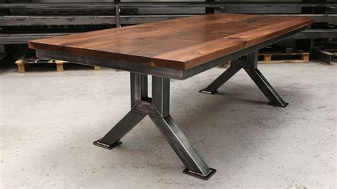 The Engineering Table   Industrial Style Dining Table