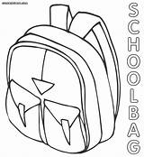 Coloring Bag Pages Bags Drawing Backpack Schoolbag 78kb 1000px Getdrawings Popular sketch template