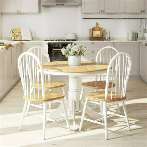 rhode island natural white  kitchen dining table