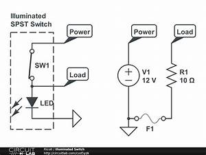 Illuminated Spst Switch - Basic Electronics  New To Electronics