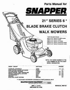 Snapper Lawn Mower 06132 User Guide