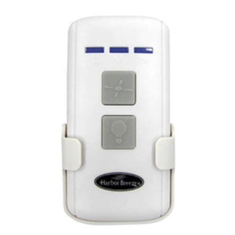 Harbor Ceiling Fan Remote Dimmer by Shop Harbor 3 Speed 0 5 White Indoor Remote Fan