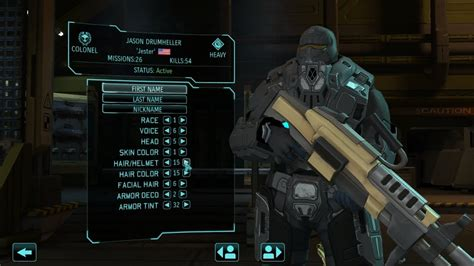 xcom enemy unknown armor soldier elite customization pack