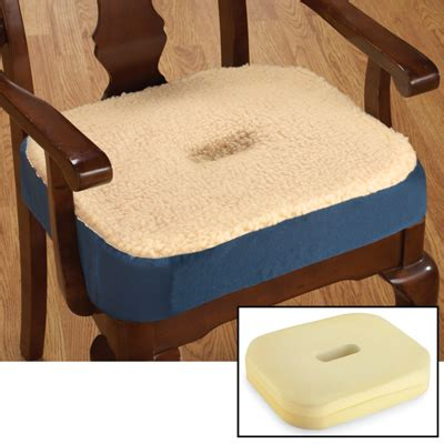 therapeutic gel filled donut chair cushion from