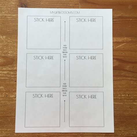 print on post it notes template diy tutorial how to print inspirational quotes on post it