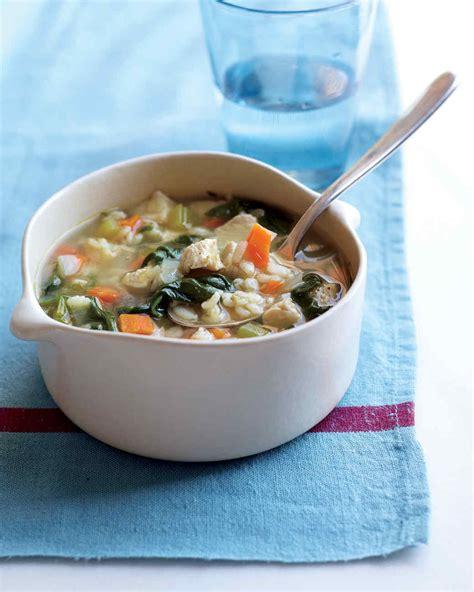 Chicken Barley Soup Martha Stewart