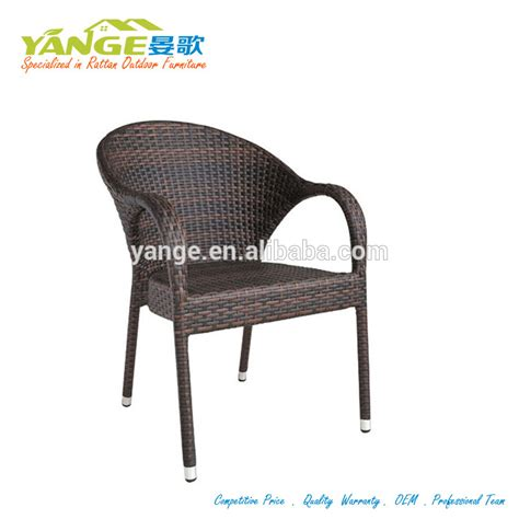 restaurant metal bistro rattan chairs for sale
