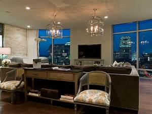 Austonian Luxury Condo - Contemporary - Living Room ...