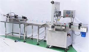 automatic inline screw capping machine manual caps feeding ...