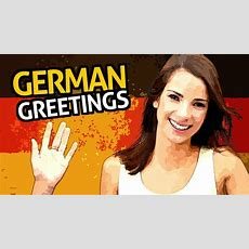 Learn German Vocabulary With Ouino™ Lesson #2 (greetings) Youtube