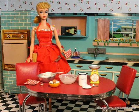 Blue Barbie Kitchen  Kitchens Of The 30s, 40s, 50s And