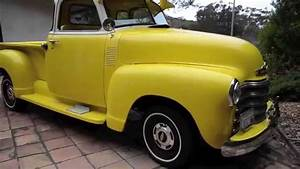 Sold  1950 Chevy 5 Window Pickup  Ca