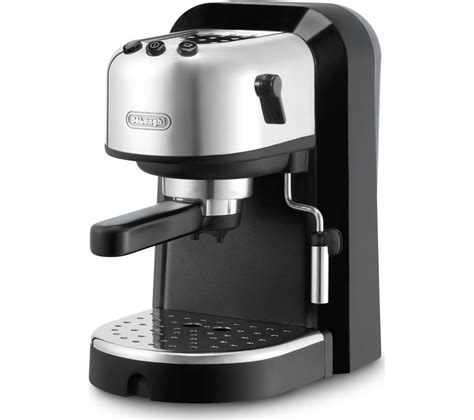 espresso machine black delonghi coffee espresso machine black chrome silver