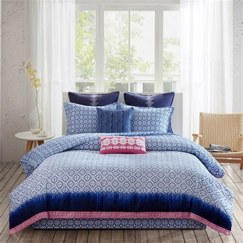 Echo Design Shibori Reversible Comforter Set   ShopBedding.com