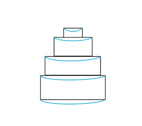 How To Draw A Cake  Easy Drawing Guides