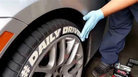 freddie bmw gets tire stickers