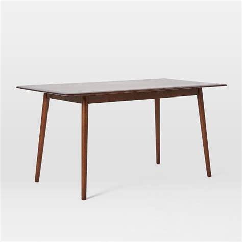 west elm mid century table lena mid century dining table large west elm