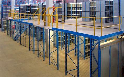 Industrial Rack Supported Mezzanine Floors » Mr Shelf