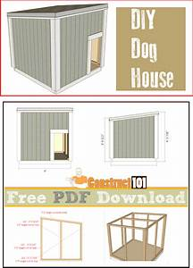 Large dog house plans pdf download construct101 for Insulated dog house plans pdf
