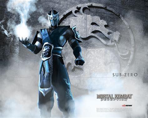 Sub Zero From The Mortal Kombat Series