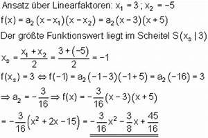 Parabel Rechnung : funktionsgleichung parabel durch drei punkte mathe brinkmann ~ Themetempest.com Abrechnung