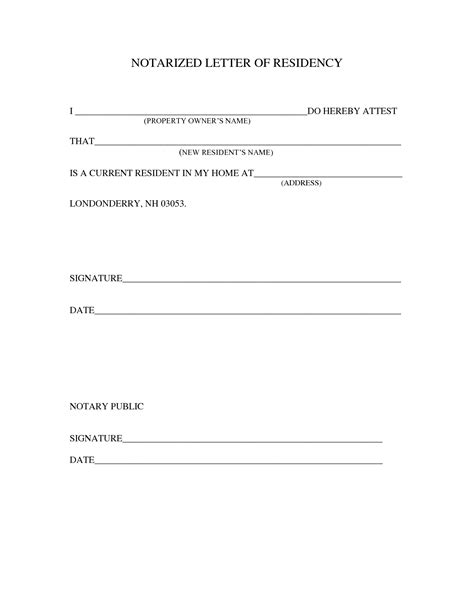 notarized letter template sle notarized letter template projects to try letter templates and template