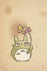 Totoro iPhone 4 Wallpaper and iPhone 4S Wallpaper ...