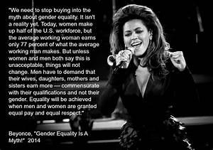 Gender Equality? Beyoncé Calls Bullsh*t. | Equality
