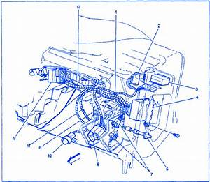 Gmc Savana 2003 Dash Electrical Circuit Wiring Diagram