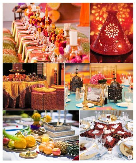 mariage theme oriental idees