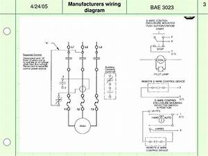 Motor Control Wiring Diagram Ppt