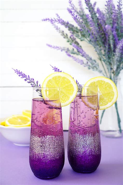 Lavender Lemonade Prosecco Cocktail Happiness Is Homemade