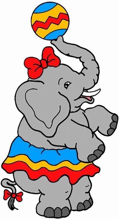 Circus Cliparts Zirkus Clipart Amusement Animaatjes Clip