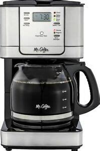 If you use tap water, you're likely to experience mineral deposit spots on the pitcher. Mr. Coffee 12-Cup Programmable Coffee Maker with Strong Brew Selector, Stainl...   eBay