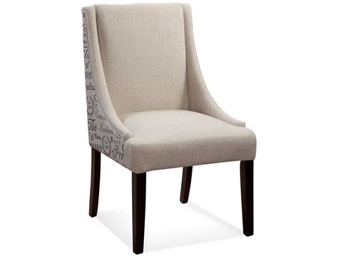 tufted nailhead dining chair anneau olive linen tufted