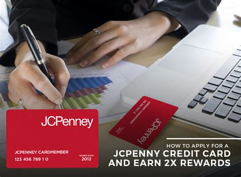 Jcpenney credit card comes for departmental stores in america using jcpenney credit card to buy any product like clothing, jewelry, and electronics furniture that is the best use for all time. Find Out How to Apply for a JCPenney Credit Card and Earn 2X Rewards - StoryV Travel & Lifestyle