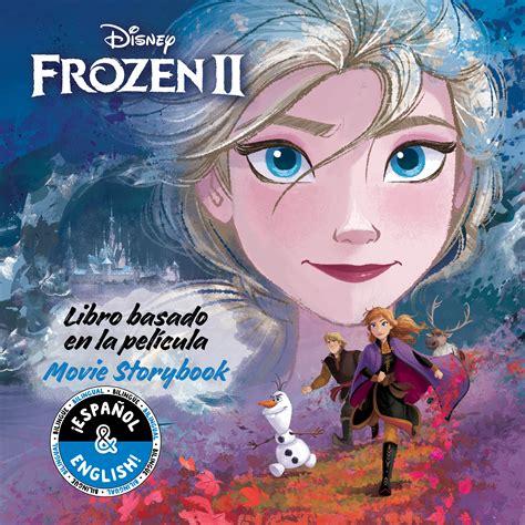 disney frozen   storybook libro basado en la