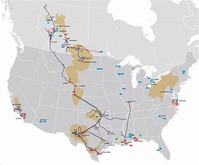 Plains Map Pipeline American Midstream Locations Key