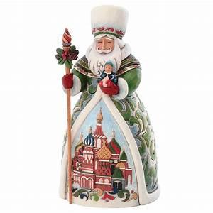 Russian Santa Jim Shore Figure Jim Shore Collectibles