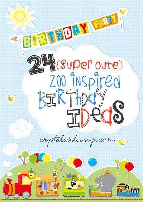 zoo birthday party  kids
