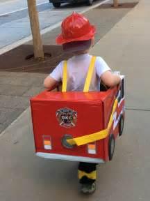Toddler Preschool Boy Fireman Fire Truck Halloween Costume