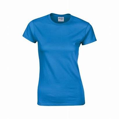 Shirt Gildan Ladies Cotton Premium Shirts Printing