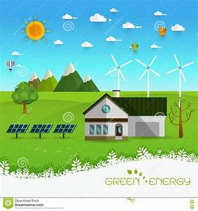 Eco Friendly House Stock Vector - Image: 73368783